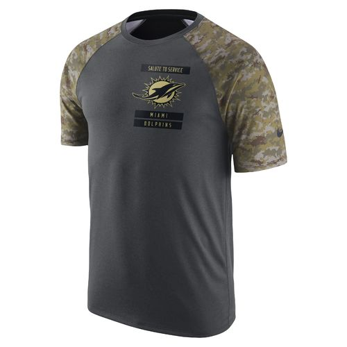 Nike Men's Miami Dolphins 2016 Salute To Service T-shirt