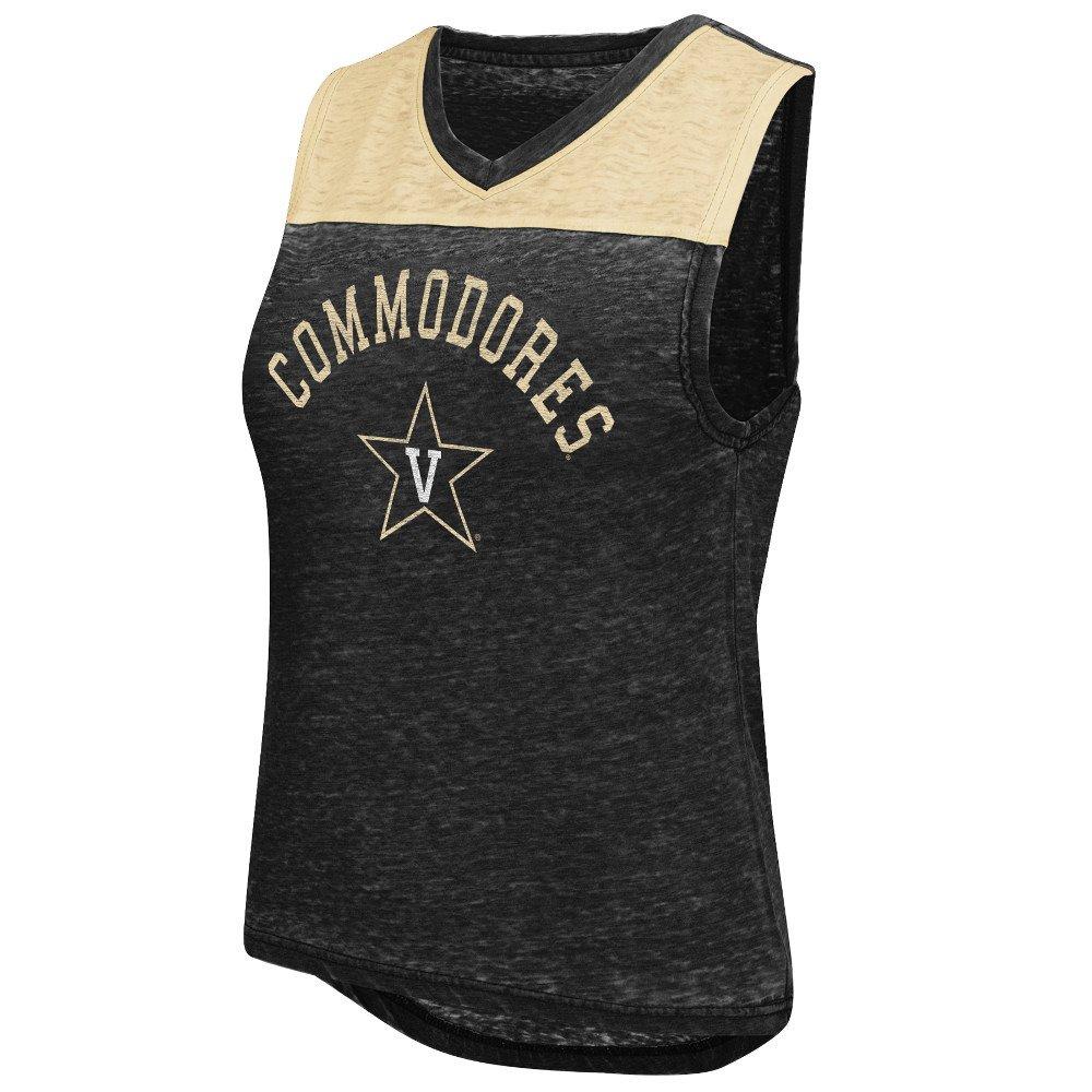 Colosseum Athletics Women's Vanderbilt University Kiss Cam Tank