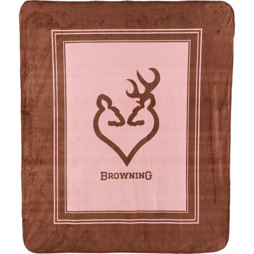 "Browning™ 50"" x 60"" Buckheart Throw"