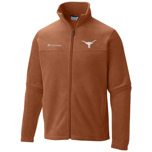 Antigua Men's University of Texas Flanker Fleece Vest