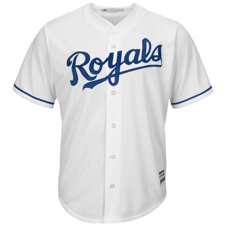 Majestic Men's Kansas City Royals George Brett #5 Cool Base Replica Jersey - view number 3