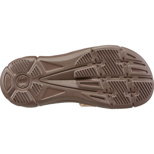Under Armour Girls' Ignite Camo VII Sports Slides - view number 5