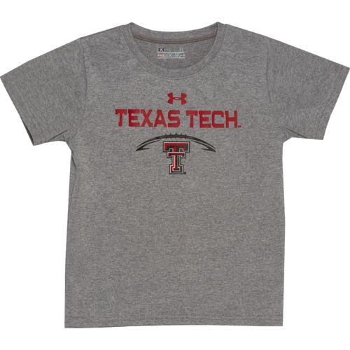 Under Armour Toddlers' Texas Tech University Arch Logo T-shirt