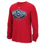adidas™ Men's New Orleans Pelicans Cut the Net Long Sleeve T-shirt