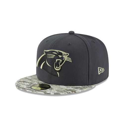 New Era Men's Carolina Panthers Salute to Service 59FIFTY Cap