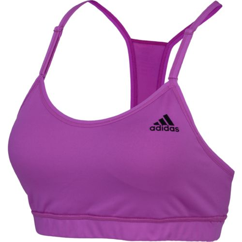 Display product reviews for adidas Women's Strappy Solid Sports Bra