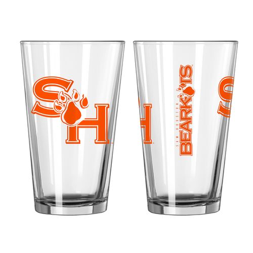 Boelter Brands Sam Houston State University Game Day 16 oz. Pint Glasses 2-Pack