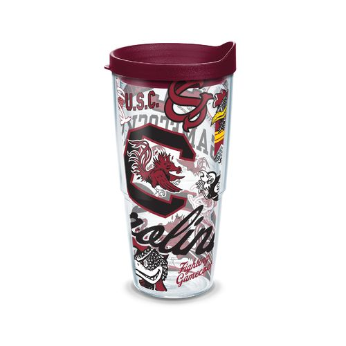 Tervis NCAA University of South Carolina Allover 24