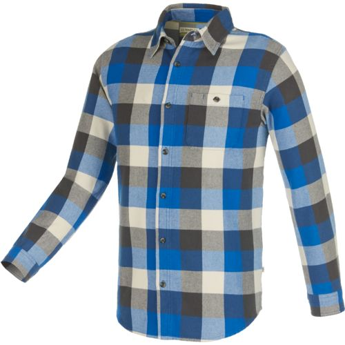 Magellan Outdoors Men's Brawny Plaid Long Sleeve Shirt