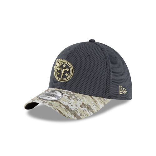 New Era Men's Tennessee Titans Salute to Service 39THIRTY Cap