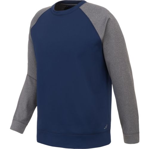 Display product reviews for BCG Men's Performance Fleece Crew Pullover
