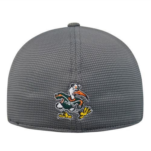 Top of the World Men's University of Miami Booster Cap - view number 2