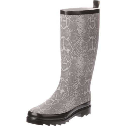 Austin Trading Co. Women's Snakeskin Rubber Boots - view number 2