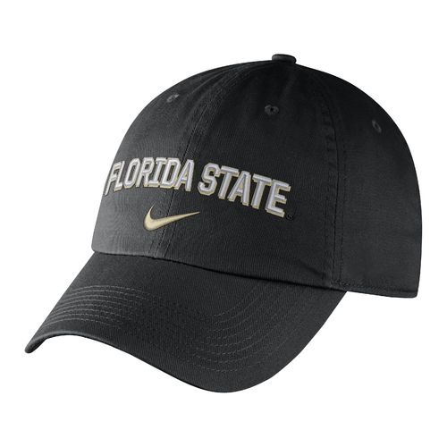 Nike Men's Florida State University Heritage86 Wordmark Swoosh Flex Cap
