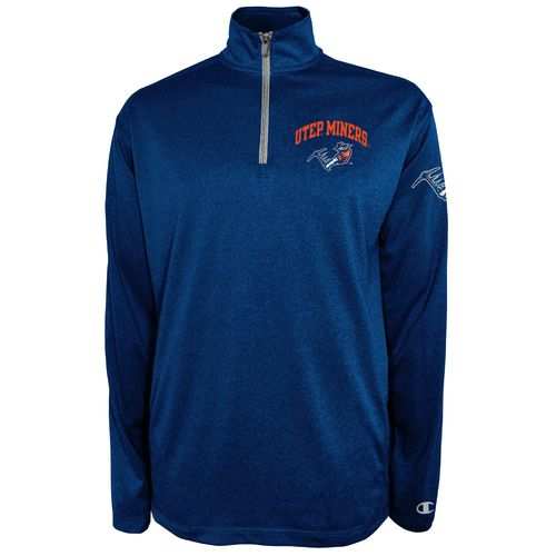 Champion™ Men's University of Texas at El Paso Victory 1/4 Zip Pullover - view number 1