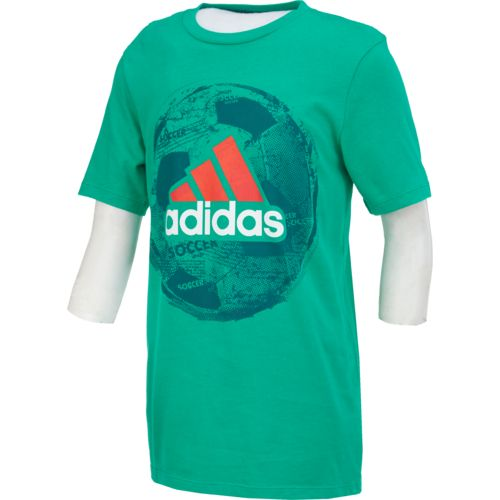 adidas Boys' Field Court climalite T-shirt