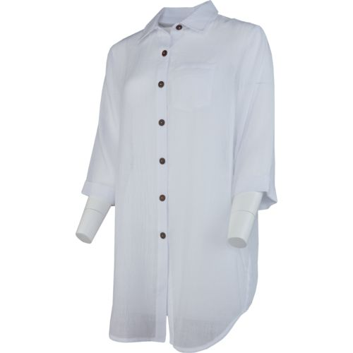 O'Rageous Women's Button Front Cover-Up