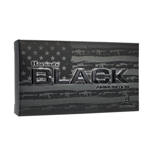 Hornady BTHP BLACK™ .223 Remington 75-Grain Rifle Ammunition