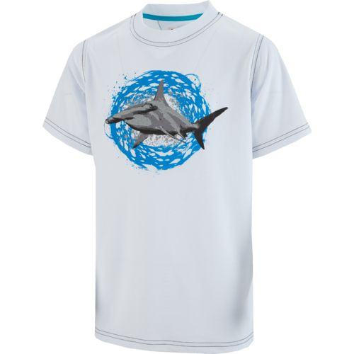 Magellan Outdoors Boys' Reflective Hammerhead Shark Graphic T-shirt - view number 2