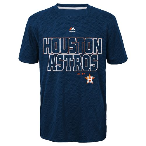 MLB Boys' Houston Astros Geo Fuse T-shirt
