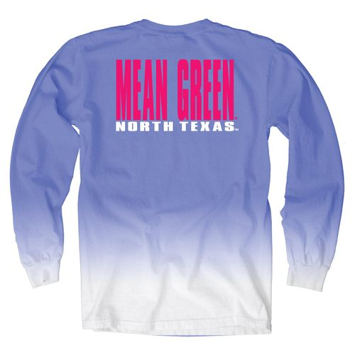Blue 84 Women's University of North Texas Ombré Long Sleeve Shirt