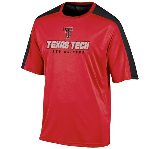 Champion™ Men's Texas Tech University Colorblock T-shirt - view number 1