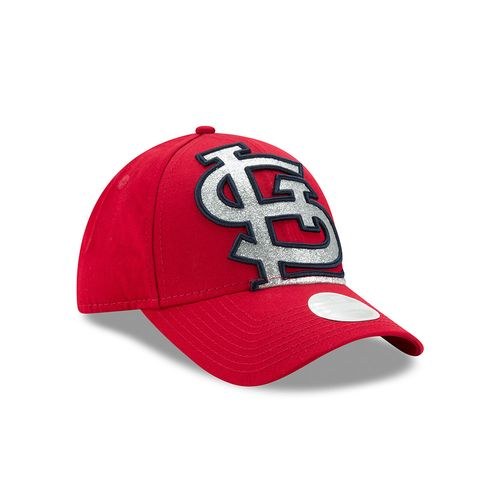 New Era Women's St. Louis Cardinals Glitter Glam 9FORTY Cap - view number 3