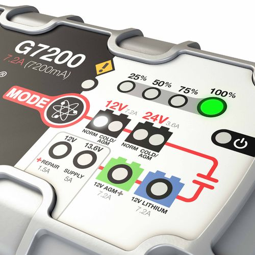 NOCO 7.2 Amp UltraSafe Battery Charger and Maintainer - view number 3