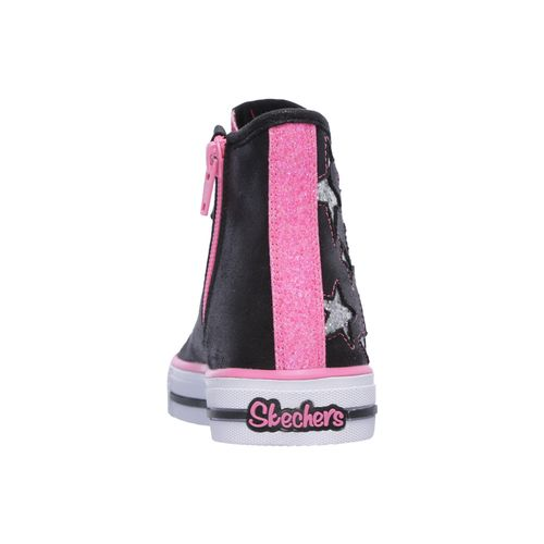 SKECHERS Girls' Twinkle Toes Shuffles Shoes - view number 4