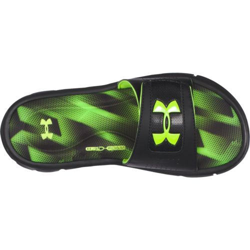Under Armour Boys' Ignite Banshee III Slides - view number 4