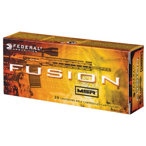 Fusion MSR 6.5mm Grendel 120-Grain Soft-Point Centerfire Rifle Ammunition - view number 1