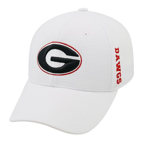 Top of the World Men's University of Georgia Booster Plus Flex Cap - view number 1