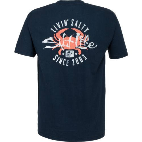 Salt Life Men's Salty Crab Short Sleeve T-shirt