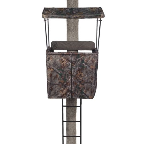 Display product reviews for Game Winner 2-Man Ladder Stand Realtree Xtra Accessory Kit
