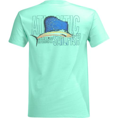 Magellan Outdoors Men's Mosaic Sailfish Pocket T-shirt