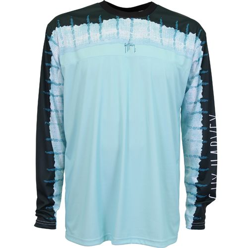 Guy Harvey Men's Del Mar Performance Pro UVX Long Sleeve Shirt