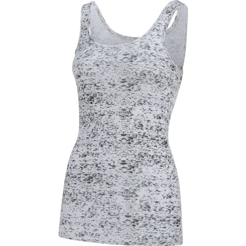 BCG Women's Slub Print Baby Rib Tank Top - view number 3