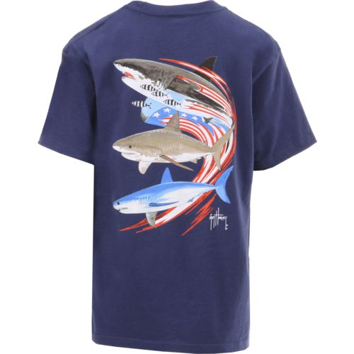 Guy Harvey Boys' Go Fast Short Sleeve T-shirt