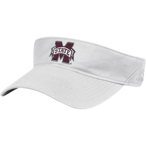 adidas Men's Mississippi State University SL Coach Adjustable Visor