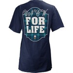 Three Squared Juniors' University of North Carolina at Wilmington Team For Life Short Sleeve V-n - view number 1