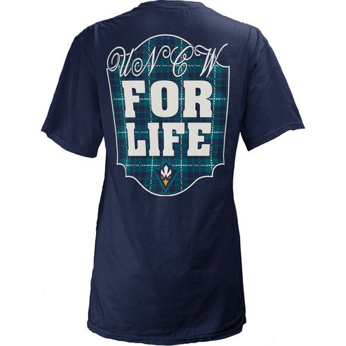 Three Squared Juniors' University of North Carolina at Wilmington Team For Life Short Sleeve V-n