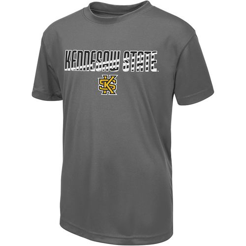 Colosseum Athletics Boys' Kennesaw State University Team Stripe T-shirt