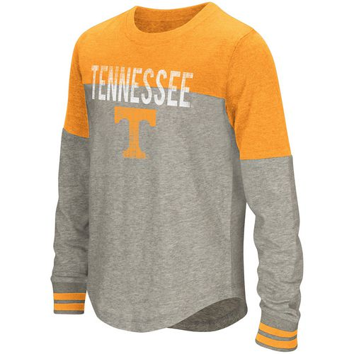 Colosseum Athletics Girls' University of Tennessee Baton Long Sleeve T-shirt