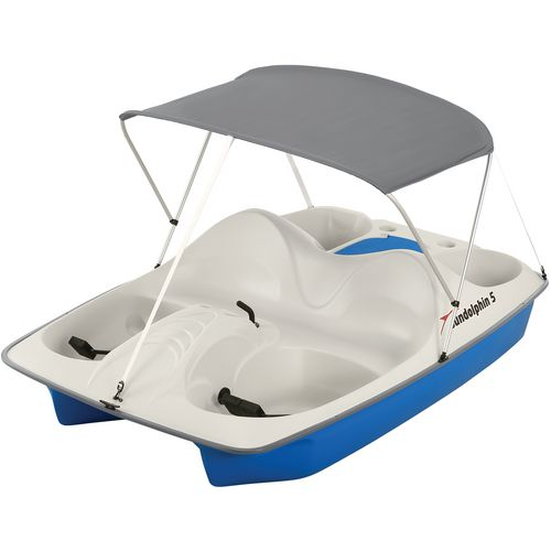 Sun Dolphin 5-Seat Pedal Boat with Canopy - view number 1
