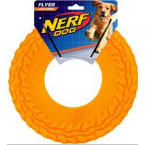 NERF Dog DogTrax 10 in Tire Flyer