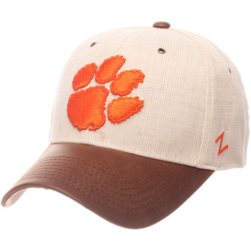 Zephyr Men's Clemson University Havana Curved Bill 2-Tone Cap