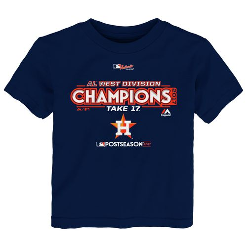 Majestic Toddler Astros Division Champs Locker Room T-Shirt