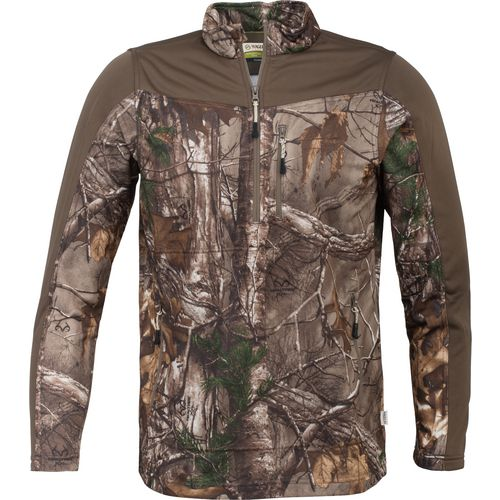 Display product reviews for Magellan Outdoors Men's Hunt Gear 1/2 Zip Camo Shirt