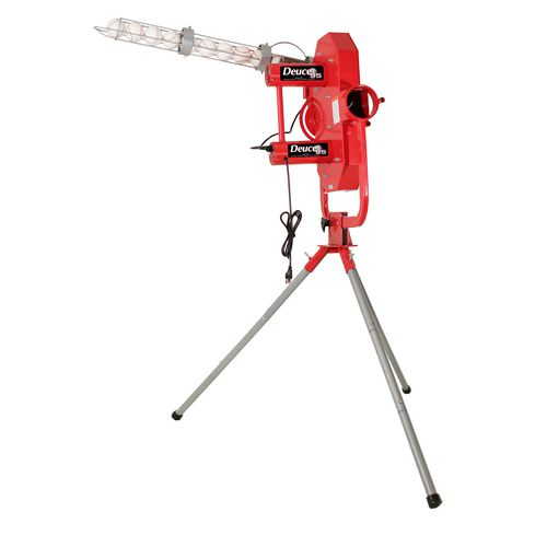 Heater Sports Deuce 95 Curveball Pitching Machine with Auto Ball Feeder