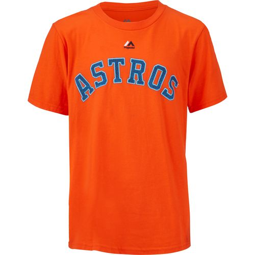 Majestic Boys' Houston Astros George Springer 4 T-shirt